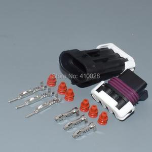 Image 3 - Shhworldsea 3pin 1.5mm otomatik elektrik kablosu fişi Hız krank mili Mühürlü 150 Üç Yollu Konnektörler 12129615 12110293