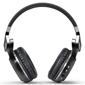 Image 3 - Bluedio T2+ Powerful Bass Stereo Bluetooth 5.0 Headphone Wireless Headset Support FM Radio Micro SD Card Play With Microphone