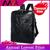 MVA Для мужчин рюкзак из натуральной кожи высокое качество школьная сумка Повседневное туристические рюкзаки Для мужчин ноутбука Бизнес сум