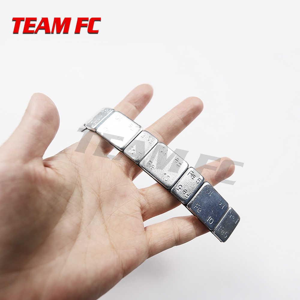 """Metalen Tegengewicht Gewicht Balans Blok voor 1.9 """"2.2"""" Velg RC Rock Crawler TRX-4 Axiale SCX10 90046 RC4WD d90 S74"""