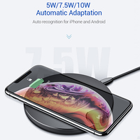 Wireless Charger 10W - Trendy QC 3.0 Fast Charger with digital power meter 9