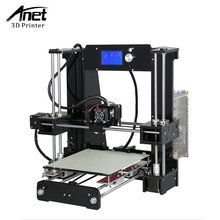 ANTE High Quality Desktop Full colors 3d printer A6 3D printer Prusa i3 precision with 1 Roll Filament 16GB SD card LCD screen