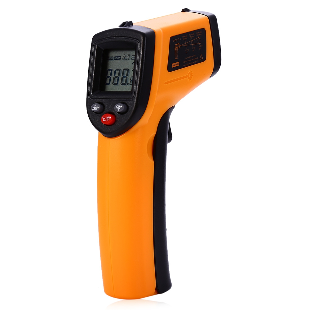 Sans contact Infrarouge Thermomètre, ménage Laser Température Testeur Pour L'eau Chaude,