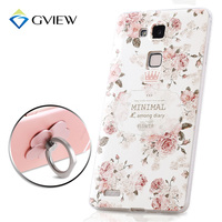 High Quality 3D Relief Print Soft TPU Back Cover Case For Huawei Ascend Mate 7 6