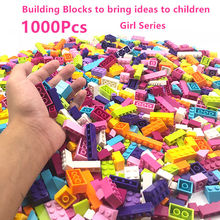 1000pcs MinecraftING Creative Girl Building Block Learning Educational Toys for Children Compatible LegoINGLY Classic Bricks