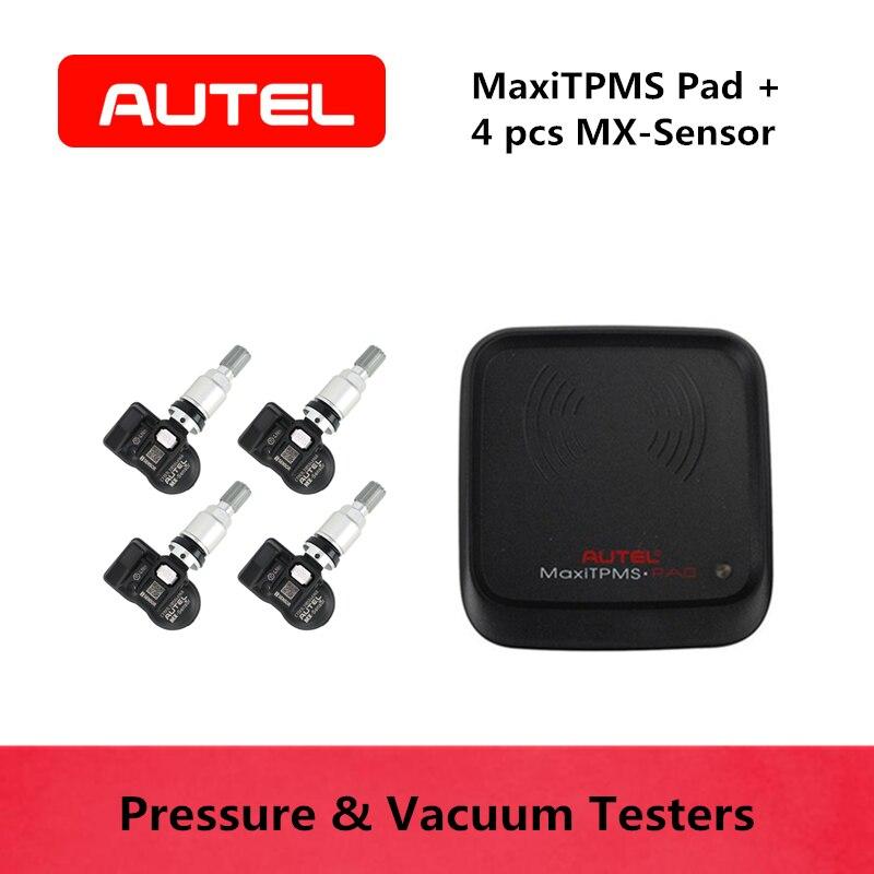 AUTEL MaxiTPMS Pad MX-Sensor 2 in 1 433 & 315 mhz Tire Pressure Monitoring System Tester Reader OBD2 TPMS Scan Diagnostic ToolsAUTEL MaxiTPMS Pad MX-Sensor 2 in 1 433 & 315 mhz Tire Pressure Monitoring System Tester Reader OBD2 TPMS Scan Diagnostic Tools