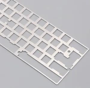 Алюминиевая пластина dz60 для DIY, механическая клавиатура из нержавеющей стали gh60