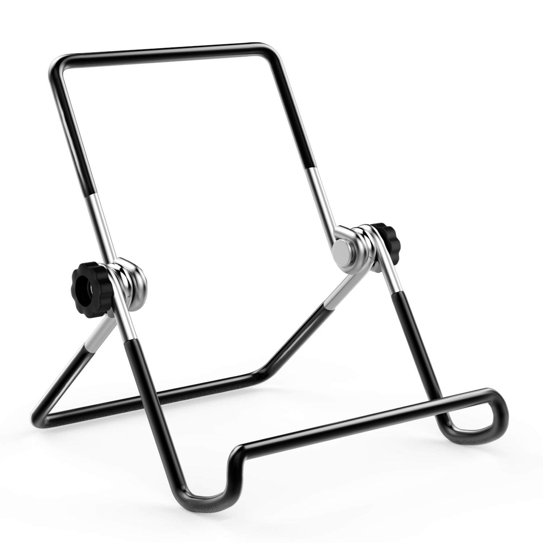 Foldable Tablet Stand, Adjustable Portable Metal Holder Cradle For 9-12.9