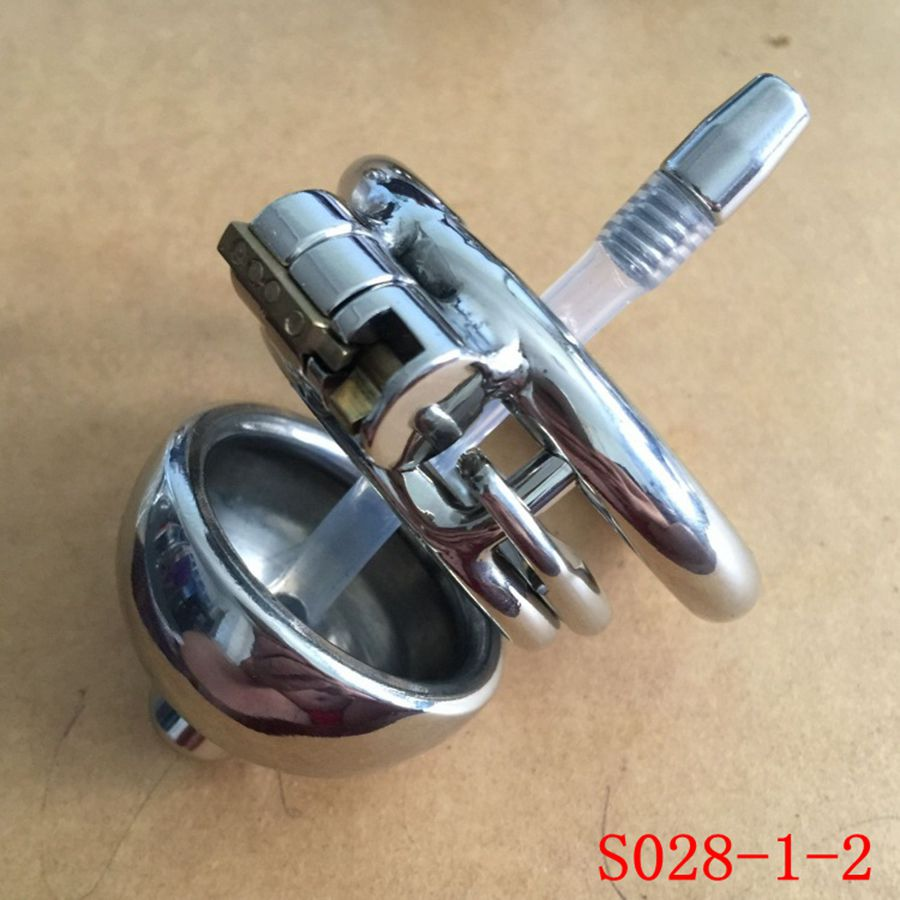 ФОТО 2016 New design Male Chastity Device Cock Cages Men Lock With  Penis Ring Cock Ring Chastity Belt Cuff Ring S028-1-2