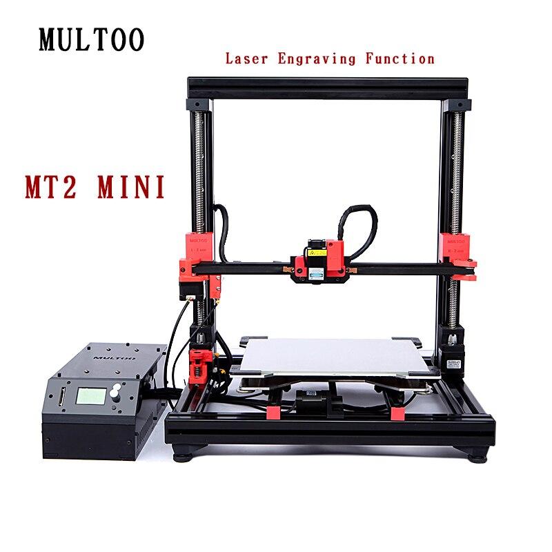 Biggerlaser plaque d'impression imprimante 3d multoo Double buse Double extrudeuse 3D imprimante accessoires haute qualité précision - 6