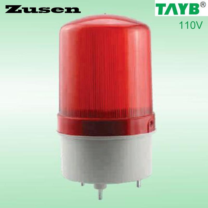 110v TB1101J Alarm rolling Signal Warn Warning Siren RED LED Lamp with buzzer