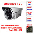 Free shipping infrared ccd free shipping 800tvl cctv camera four lamp array ir security outdoor using z1002c