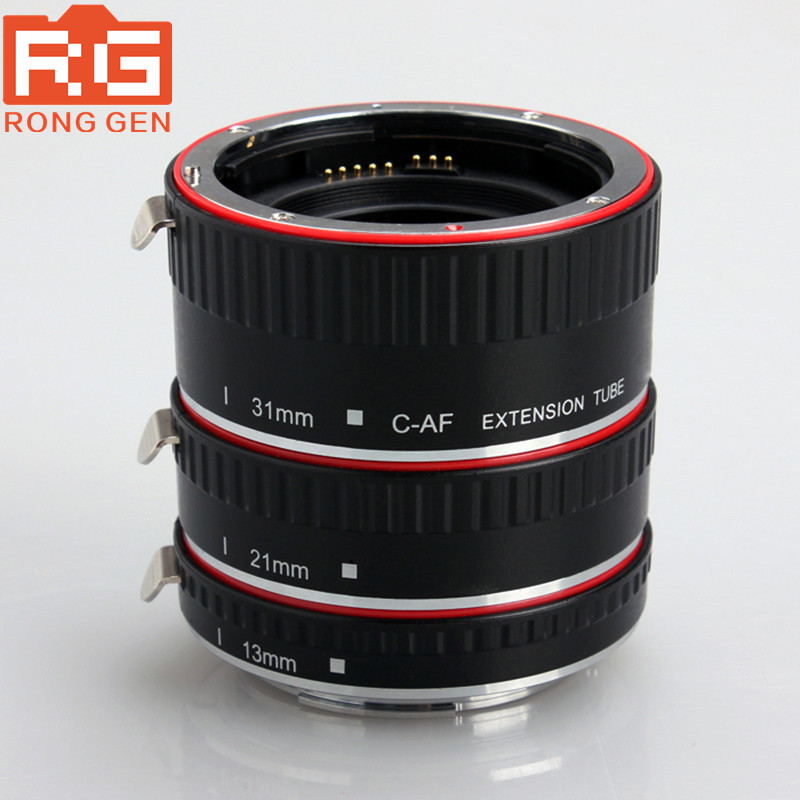 Aputure Auto Focus Macro Extension Tube Ring for Canon EOS Lens Focus Macro Extension Tube Set AC-MC kernel metal af confirm auto focus macro extension tube ring suit for canon eos ef ef s camera