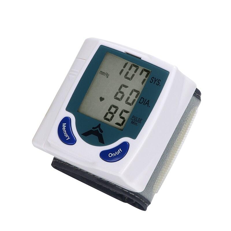 Pressão arterial Automático Esfigmomanômetro Sangue Braço Medidor De Pressão Arterial de Pulso