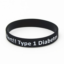 Medical Alert Silicone Wristband