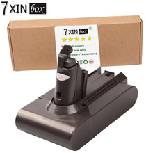 7XINbox 21.6V 2.2Ah Battery For Dyson V6 Li-ion DC58 DC59 DC61 DC62 DC72 595 650 770 880 Cordless Handhold Pet Vacuum Cleaner