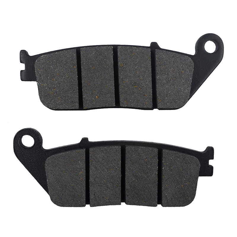 Motorcycle Parts Front Brake Pads Disc For HONDA CBR400 NC29 NC29 / CBR250 MC19 MC22 / NV400 NV 400 Steed / CB-1 CB400SF CB400 F 2 pairs motorcycle brake pads for honda cbr250 cbr 250 rj rk rk2 mc19 1988 1989 black brake disc pad