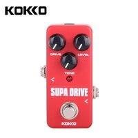 KOKKO FOD5 Portable Mini Supa Drive Electric Guitar Effect Pedal Guitar Parts Accessories