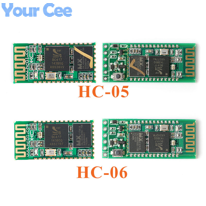 <font><b>HC</b></font>-05 <font><b>HC</b></font>-<font><b>06</b></font> For Bluetooth Module Master-slave Integrated Serial Pass-through Module Wireless Serial for Arduino <font><b>HC</b></font> <font><b>06</b></font> 05 image