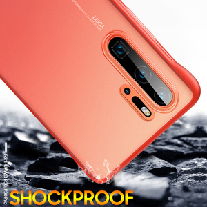 Image 4 - P30 Pro case for Huawei P30 P20 Lite 2019 mate 10 20 x back cover For Honor 8X 9X V20 20 pro P smart plus 2019 Frameless case