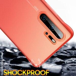 Image 4 - P30 Pro étui pour Huawei P30 P20 Lite 2019 mate 10 20 x couverture arrière pour Honor 8X 9X V20 20 pro P smart plus 2019 étui sans cadre