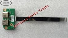 حقيقي الأصلي لتوشيبا l755 L755-S5214 DA0BL6TB6F0 المزدوجة usb ميناء مجلس ث كابل