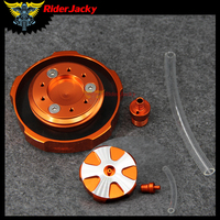 For KTM 50 85 105 SX 125 EGS EXC 200 MXC 250 300 350 LC4 360 380 400 440 450 520 525 CNC Motorcycle Fuel Tank Gas Cap Cover
