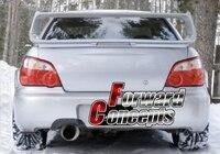 FOR Carbon Fibre Rear Exhaust Shroud 04 07 Impreza WRX STi