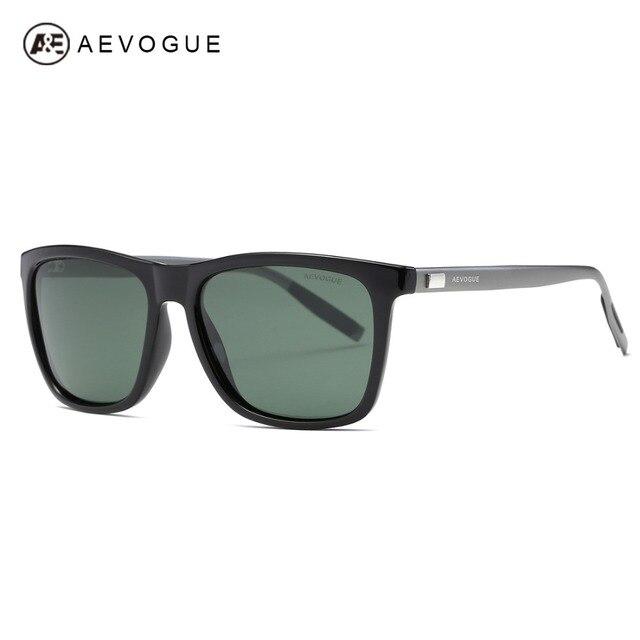 a828acef63 AEVOGUE Polarized Sunglasses Men TR90 Frame Aluminium Magnesium Temple Summer  Style Luxury Sun Glasses UV400 AE0521