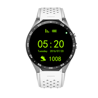 2017 Hot Sale KW88 Smart Watch 1.39 inch 3G Wifi Pedometer Heart Rating Anti theft Smartwatch Support IOS And Andriod Connecting|Smart Watches| |  -