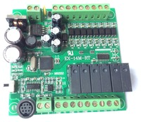EX1S FX1S 14MR programmable logic controller 8 input 6 output RS485 Modbus RTU plc controller automation controls plc system