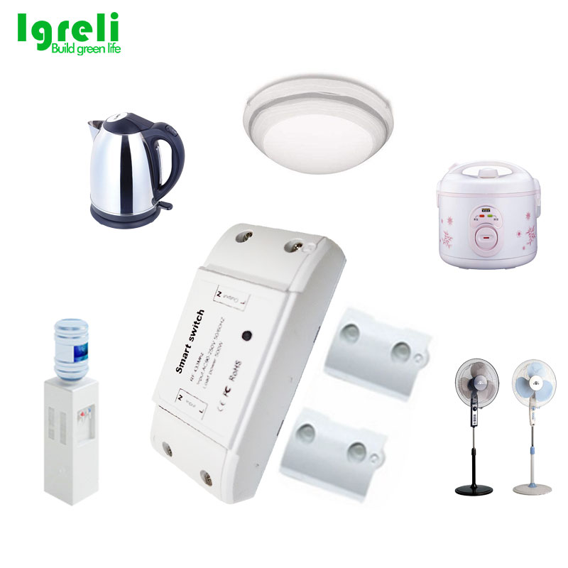 Igreli 3 pièces récepteur sans fil et trois boutons tactile télécommande bâton interrupteur pour lampe à LED AC 90-250 V & rf 433 MHZ - 5