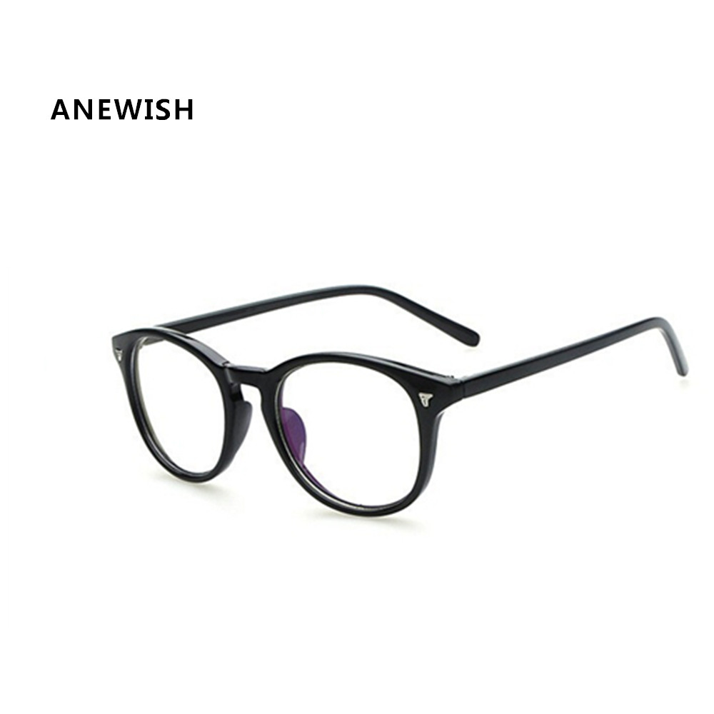 Glasses Frames For 60 Year Old Man : ANEWISH Fashion Eyeglasses Frames Retro Men Women Clear ...