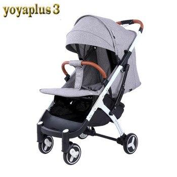YOYAPLUS 3 yoya Plus 2019 Детская коляска, Бесплатная доставка и 12 подарки, ниже заводская цена для первых продаж, новый дизайн yoya