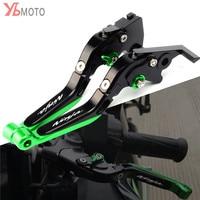 Motorcycle CNC Folding Extendable Brake Clutch Levers For KAWASAKI NINJA 300 300R 250R Z300 Z250SL NINJA250R Accessories