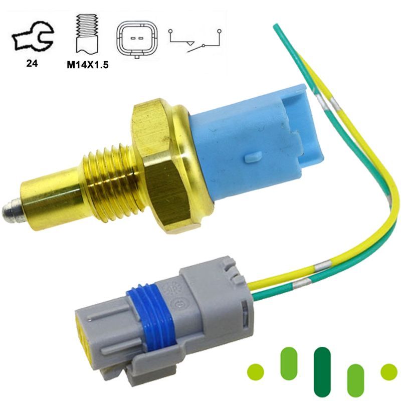 With Plug Connector For RENAULT TRAFIC TONDAR 90 I II Van 1.4 1.5 1.6 1.9 2.0 2.5 dCi 320054913R 8200209496 Reverse Lamp Switch|connector plug|connector 1/4|connector 2 -