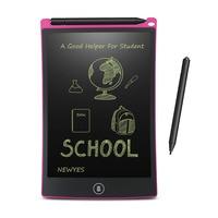NEWYES 8,5 дюймовый ЖК-планшет для письма, цифровой планшет для рисования, блокноты для рукописного ввода, портативная электронная доска для пла...