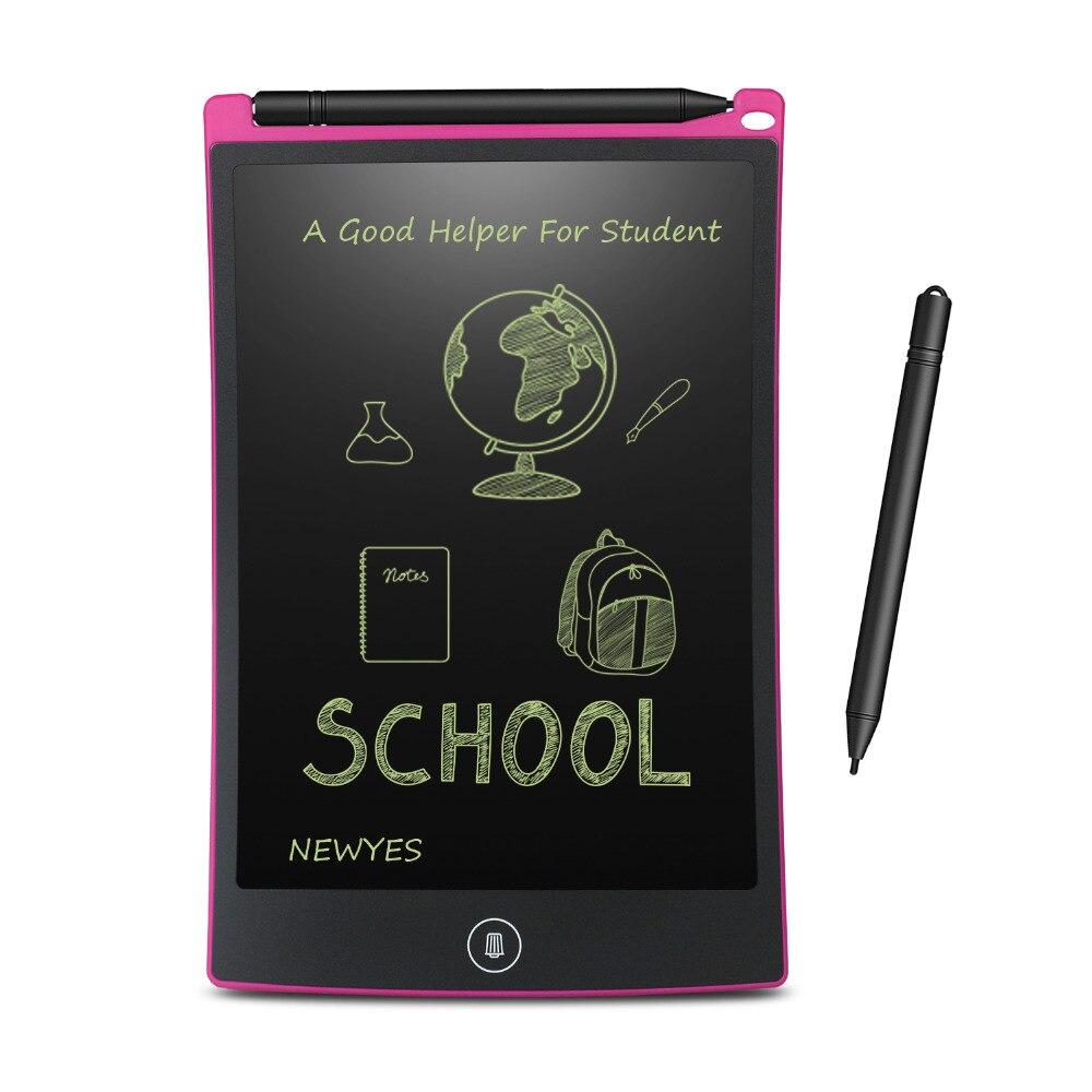NEWYES 8.5 pouces tablette d'écriture LCD tablette de dessin numérique tampons d'écriture Portable tablette électronique panneau ultra-mince