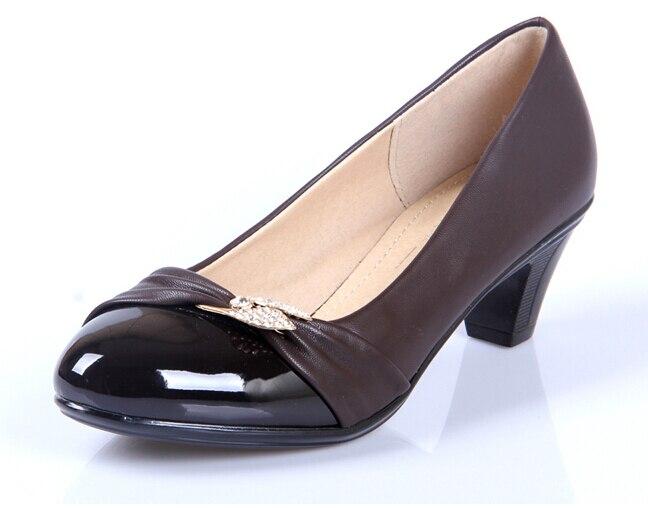 Italian Black Shoes Woman