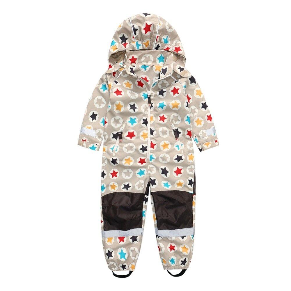 Купить с кэшбэком Onesies boys and girls outdoor clothing inner mesh piece clothing children thin ski suit,Children's outdoor coverallsRiding suit