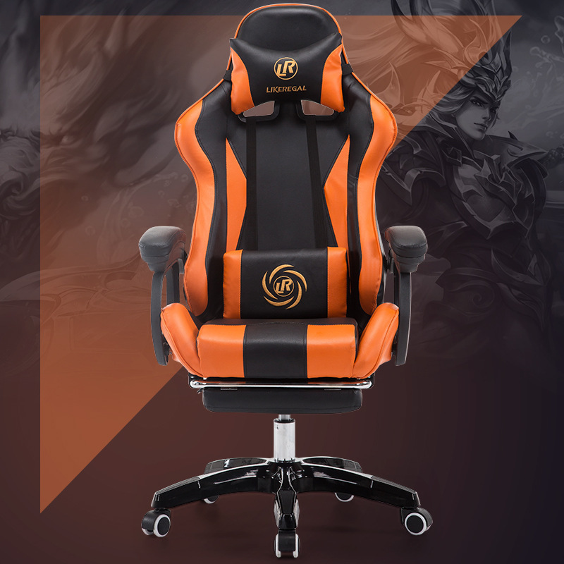 Game armchair Computer gaming gamer To Work An Office Sports Electric ergonomic cadeira sillas sedie leather chair цена