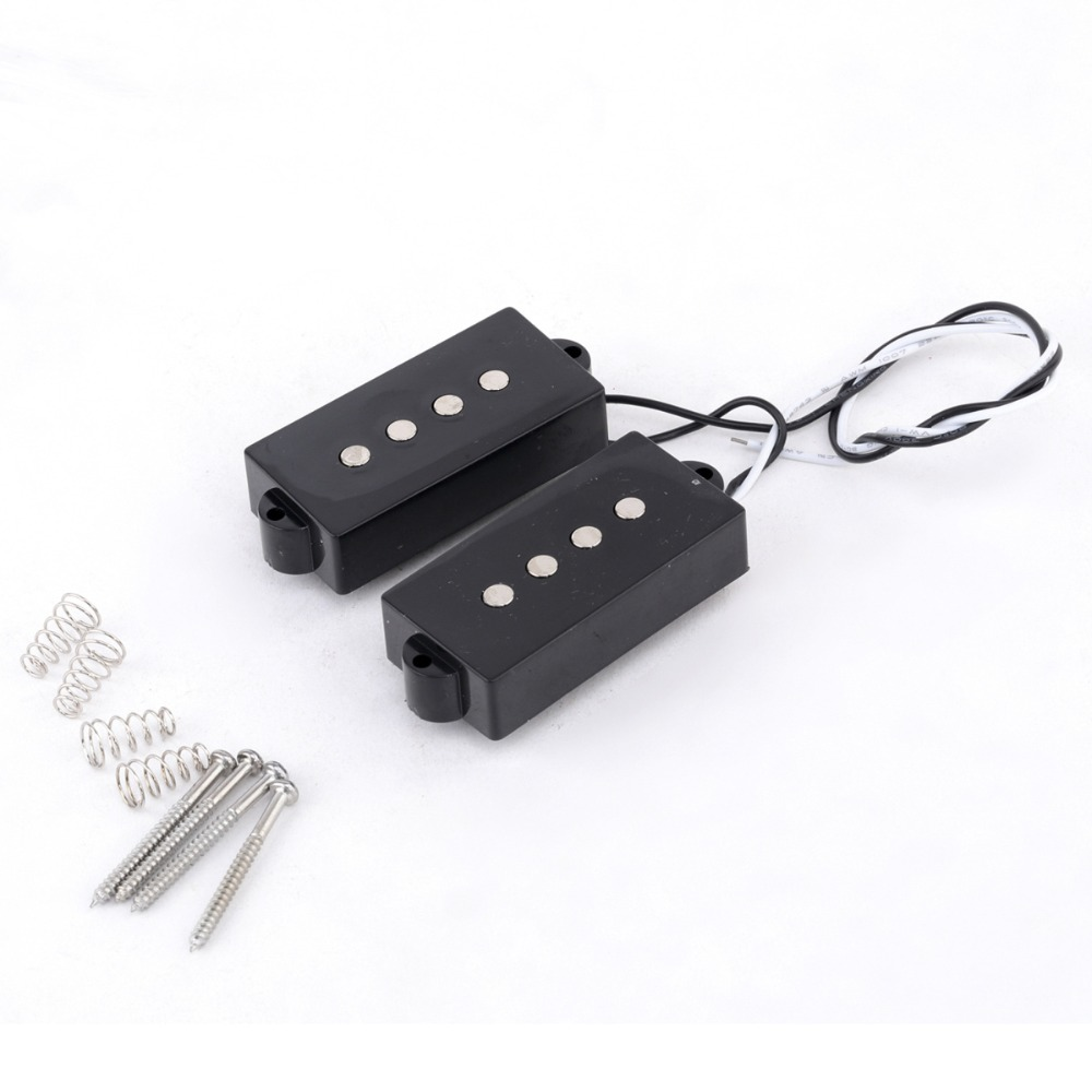 buy musiclily pro open type p bass pickups set for 4 string precision bass. Black Bedroom Furniture Sets. Home Design Ideas