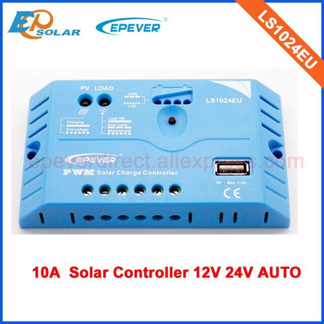 12v 24v auto work LS1024EU 10A 10amp solar EPSolar power bank regulator free shipping mini system home use