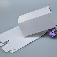 50 шт небольшая крафт-бумага коробка, коричневый картон ручной работы мыло/коробка конфет, белая Крафтовая бумага подарочная коробка, черная упаковка для ювелирных изделий