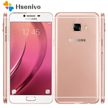 "100% Débloqué Original Samsung Galaxy C5 C5000 4G LTE Mobile Téléphone Octa base 5.2 ""16.0MP Dual SIM 4 GB RAM NFC Smartphon"
