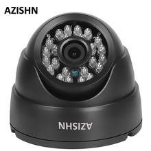 AZISHN наблюдения IP Камера H.264 Full HD 1080p 2,0 onvif HI3518E 24IR Купол CCTV Камера DC12V/POE48V
