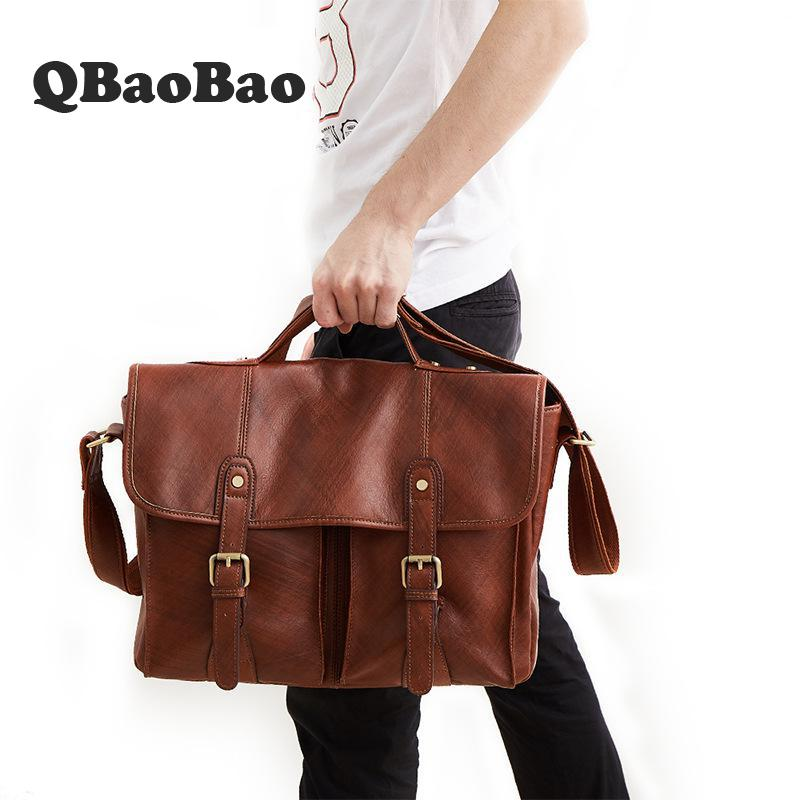 Top Grade  Leather Briefcases Men Business Lawyer Leather Laptop Bag Casual Crazy Horse Genuine Leather BriefcaseTop Grade  Leather Briefcases Men Business Lawyer Leather Laptop Bag Casual Crazy Horse Genuine Leather Briefcase