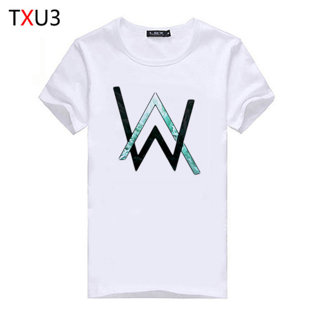 21351df2d Alan Walker Norway Faded DJ Electronic Music Print Original Design Fashion  Casual Cotton Tshirt T shirt Top TEE Free Shipping