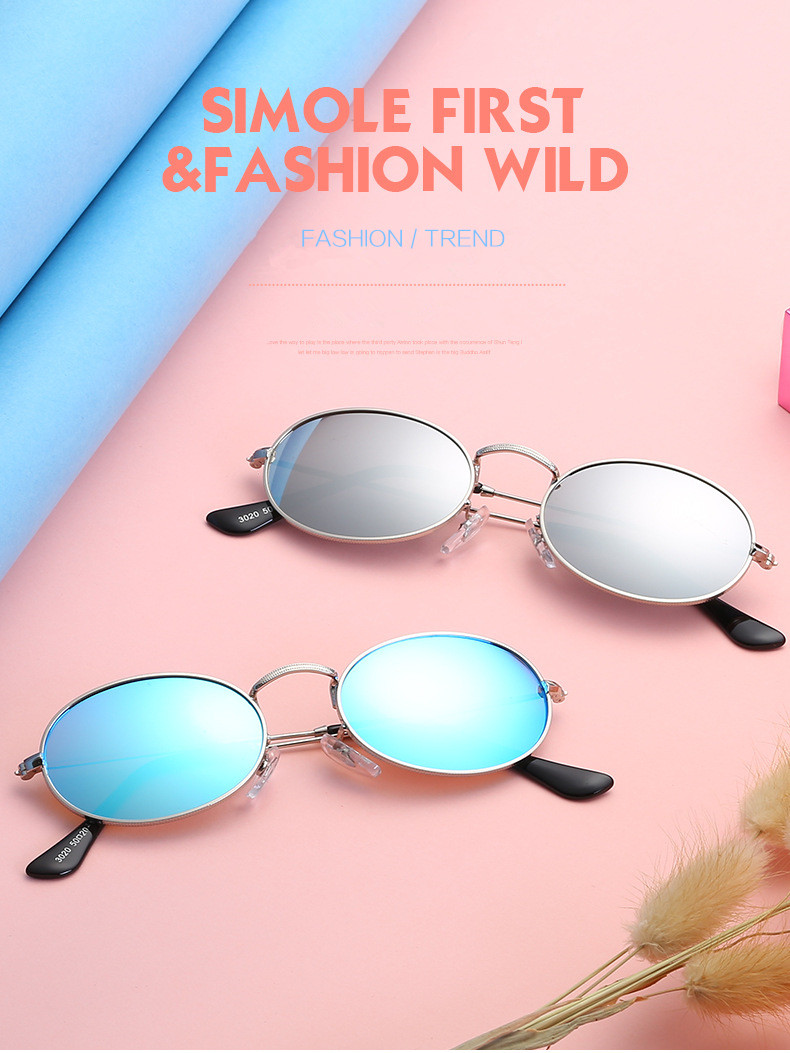 HTB1WZV4XgbHK1JjSszdq6AIyVXa5 - UVLAIK New Fashion Small Round Sunglasses Women Brand Vintage Eyeglasses Metal Frame HD UV400 Lens Sun Glasses Shades Eyewear