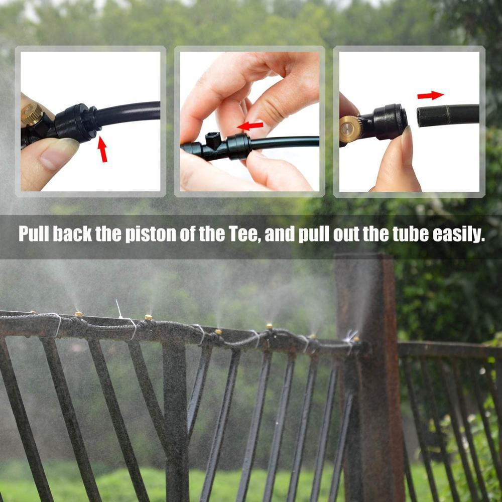 HTB1WZV8eRKw3KVjSZTEq6AuRpXap - Water Misting Cooling System Kit summer Sprinkler brass Nozzle Outdoor Garden